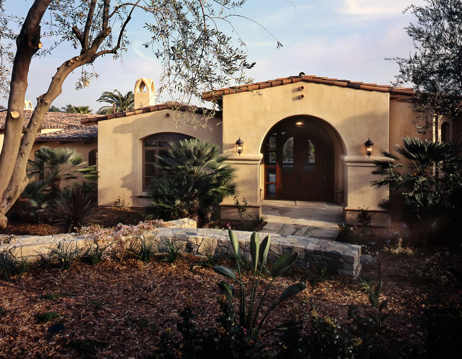 This Distinctive Estate Was Designed With Spanish Inspiration